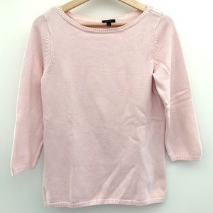 Talbots pink sweater